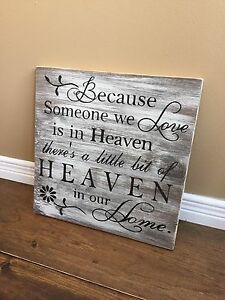 Handmade Heaven Sign