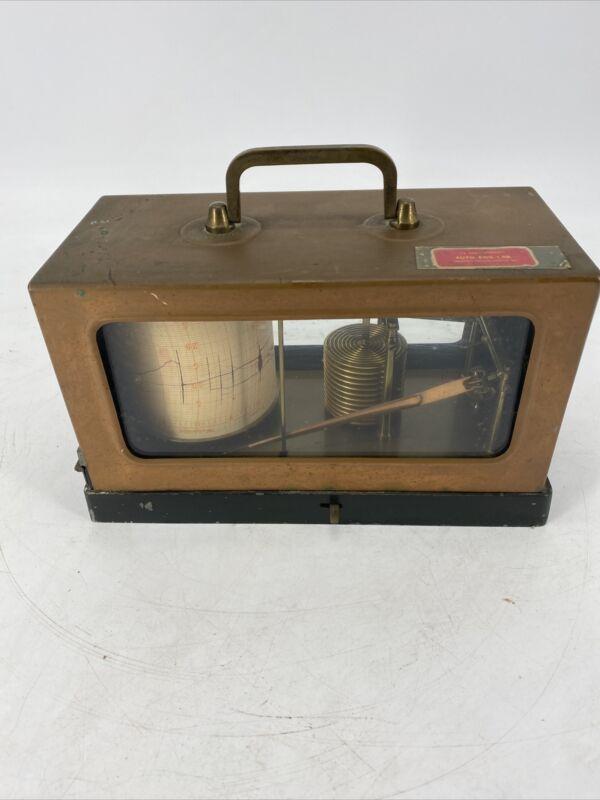 Antique RARE  Henry J. Green Brass RecorderScientific Instrument No. 524