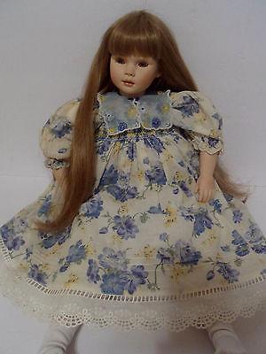 "Pauline Bjonness Jacobsen Limited Edition 271/950, 22"" Porcelain Doll, ""Maggie"""
