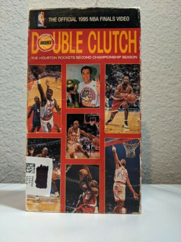 Double Clutch: The Rockets Second Championship Season 1994-95 (VHS, 1999, USED
