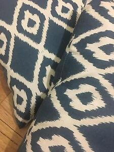 Blue and white pattern cushions set of 2 Gladstone Park Hume Area Preview