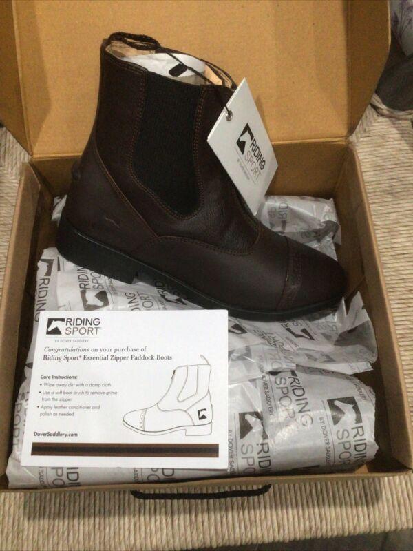 Riding Sport By Dover Saddlery Kids Leather Paddlock Boots Size 4