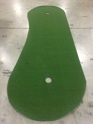 4 Ft x 15 Ft Professional Synthetic Putt Turf Grass Nylon Practice Putting Green