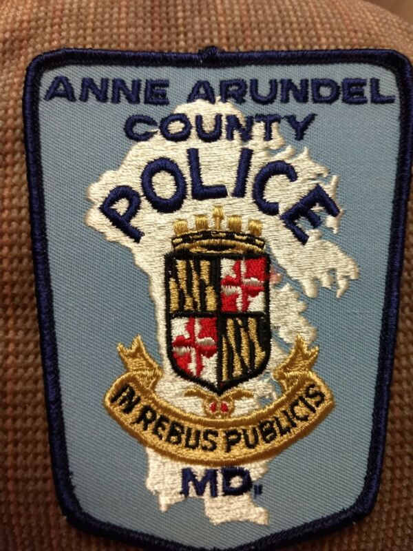 Anne Arundel County Maryland Police Patch - New