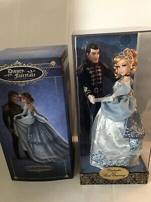 Disney Fairytale Designer Collection Cinderella and Prince Charming Doll Set LE - Prince Fairytale