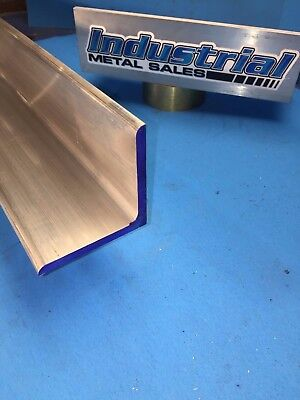 6061 T6511 3 X 3 X 12-long Aluminum Angle 14 Thick--3x 14 6061 Angle