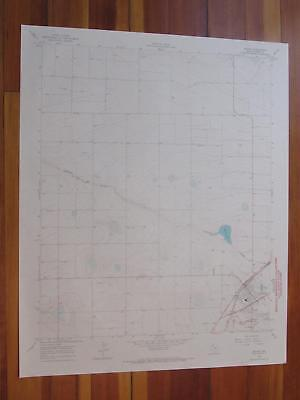 Bovina Texas 1968 Original Vintage USGS Topo Map