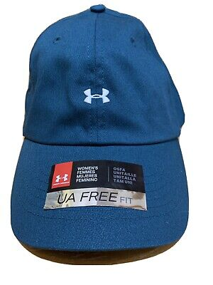 Under Armour Womens Hat UA Free Fit - HeatGear Dark Teal - New With Tags
