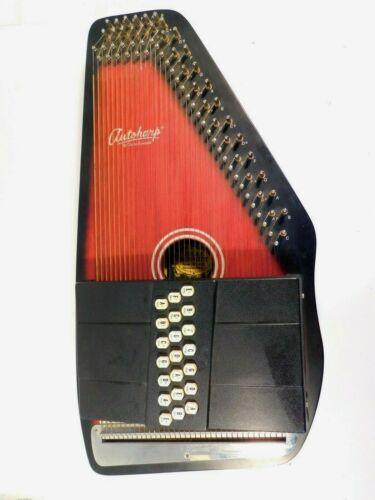 Vintage Oscar Schmidt Autoharp with case - 21 chord, 36 string, OS-21C Sunburst