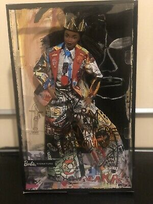 Barbie x Jean Michel Basquiat Barbie Doll Gold Label In Hand Ships Same Day Rare