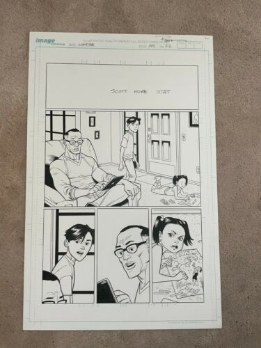 RYAN OTTLEY Original Art INVINCIBLE #144 Pg 22 The End of All Things FINAL ISSUE