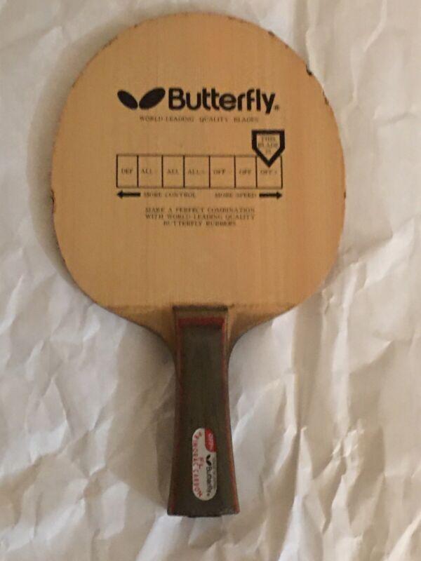 Butterfly PRIMORAC CARBON OFF+ FL BLACK METAL TAG BLADE