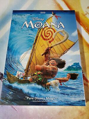 Moana (DVD, 2017) Brand New Free Shipping USA Seller