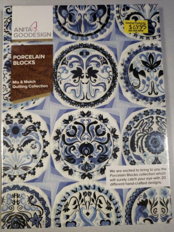 Porcelain Blocks Machine Embroidery Anitagoodesigns