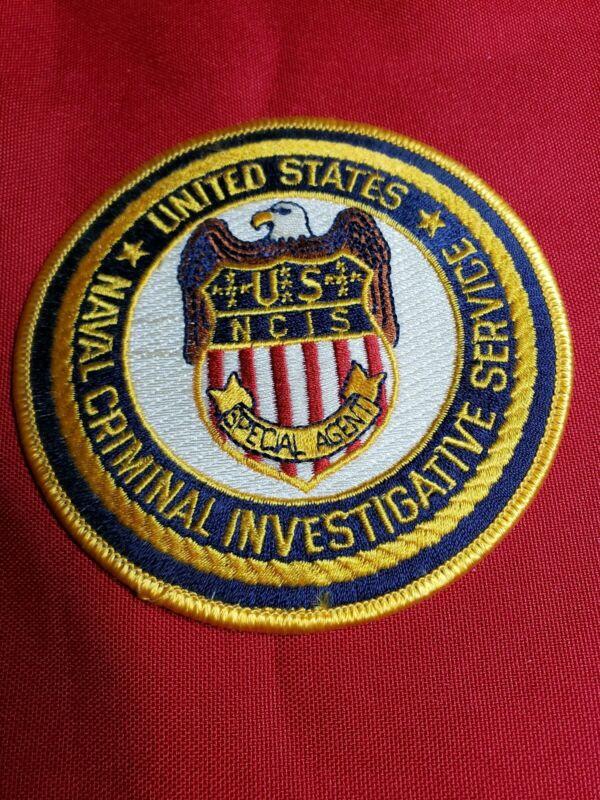 UNITED STATES NAVAL CRIMINAL INVESTIGATIVE SERVICE NCIS POLICE PATCH