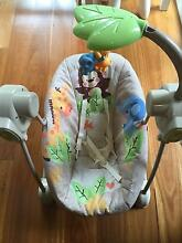 Fisher -Price SpaceSaver Baby Swing Seat Molong Cabonne Area Preview