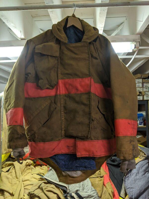 Morning Pride Firemans Turnout  Bunker Coat Gear 44/27-33/31
