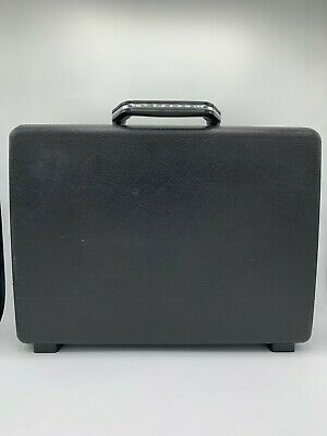 American Delegate Briefcase Attache Case Hard Shell Vintage No Keys Samsonite