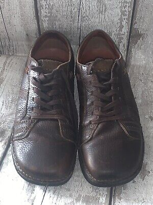 Hush Puppies Men's Brown Leather Lace Shoes UK8...