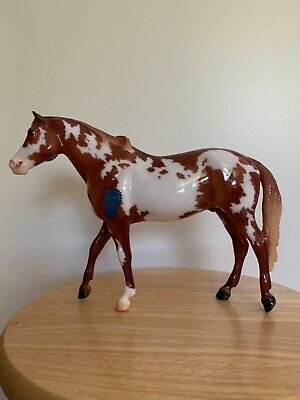 BREYER SR VINTAGE CLUB ROMAN GLOSSY CHESTNUT PAINT HORSE SAN DOMINGO MOLD NIB