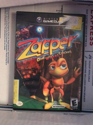Zapper (Nintendo GameCube, 2002) Great Condition. Complete W/manual.