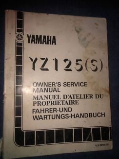 Yz 450f standard full exhaust system motorcycle scooter parts yamaha yz125 s model owners service manual fandeluxe Image collections
