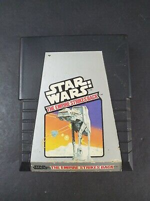Atari 2600 - STAR WARS The Empire Strikes Back Authentic Game Cartridge TESTED