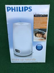 Philips Wake-Up Natural Light Therapy Alarm Clock, FM Radio, HF3470, NEW