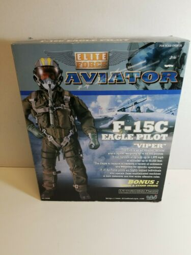 NEW BBI ELITE FORCE AVIATOR F-15C EAGLE PILOT VIPER 1:6 SCAL