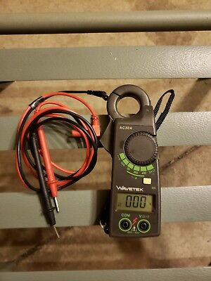 Wavetek Meterman Clamp Meter Ac30a