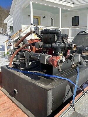 Hale Hpx200-b18 Water Pump With Control Panel Attack Pump Hannay Hose Reel