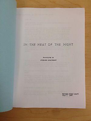 IN THE HEAT OF THE NIGHT 1967 Oscar Winning Screenplay starring Sidney Poitier