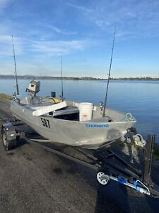 Aluminium boat tinny