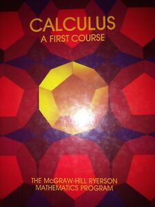 Calculus- A first course