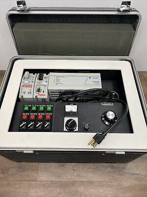 Allen Bradley Trainer Plc Training Micro Logix 1000 Digital Analog Io