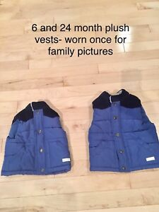Vests used for family photos