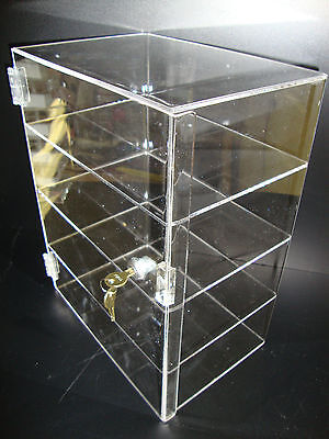 Acrylic Countertop Display Case 12 X 9 12 X 16 Locking Security Show Case Bo