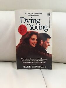 """Dying Young"" Paperback Book. $1.00"