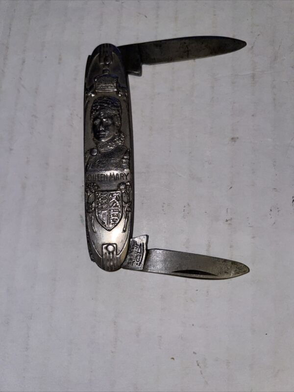 Antique Queen Mary King George V. Souvenir Pocket Knife