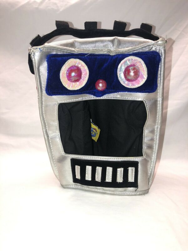 Robot Head Gear Little Daydreamers Elope For Kids Imagination Halloween Playtime