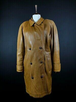 Jil Sander Rare Vintage Leather Coat Size 38