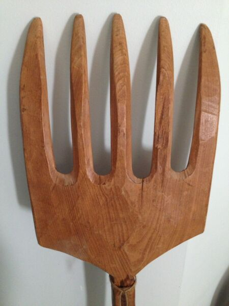 Antique Wooden Pitchfork Antiques Gumtree Australia Swan Area