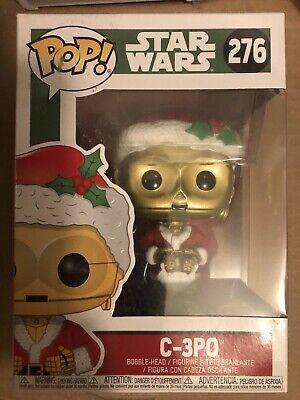 "Funko Pop Holiday Christmas : Star Wars : C-3PO #276 Vinyl Figure ""MINT"""