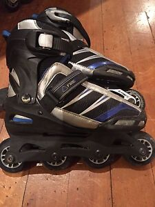 Rollerblades with adjustable size
