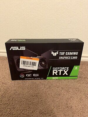 ASUS TUF Gaming GeForce RTX 3070 OC 8GB GDDR6X Graphics Card - Factory Sealed