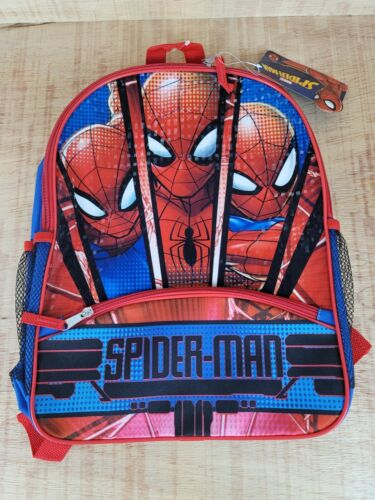 The Amazing Spider-man Marvel Reflective Kids School Backpack