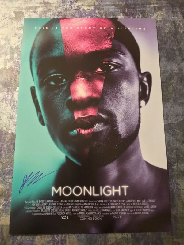 GFA Moonlight Kevin * JHARREL JEROME * Signed Autograph 12x18 Photo COA