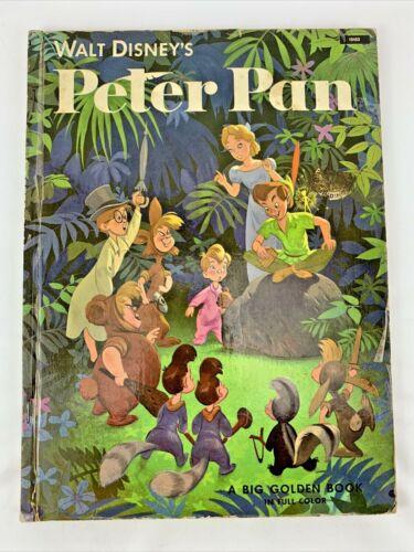 Vintage Big Golden Book WALT DISNEY