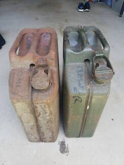 20L Metal Jerry Can x 2