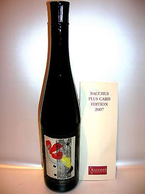 2005 Oestricher Klosterberg Spätburgunder Rotwein Künstler-Etikett Birgid Vietz